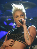 Pink in Concert at the NIA, Birmingham, 2006 Photographic Print