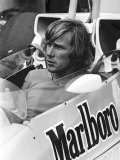 James Hunt in His Marlboro Mclaren Racing Car 1978 Photographic Print