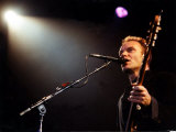 Sting Pictured During His Concert at the Cardiff International Arena Fotografisk tryk