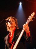 Bass Guitarist John Taylor of Pop Group Duran Duran in Concert at the Cardiff International Arena Photographic Print