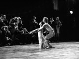 Rudolf Nureyev and Margot Fonteyn at Royal Ballet's Production of Pelleas et Melisande Stampa fotografica