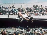 Olympic Games Men's High Jump, Dick Fosbury the Gold Madallist Photographic Print