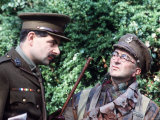 Blackadder, the New Series Which is Set in World War One. Rowan Atkinson Tony Robinson Photographie