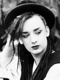 Boy George Lead Singer of Pop Group Culture Club Photographic Print