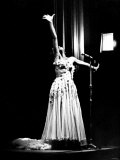 Dramatic Moment During the Performance by Shirley Bassey at the Capitol Theatre, Cardiff Photographic Print
