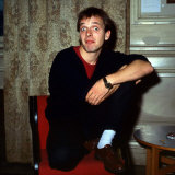 Rik Mayall at Edinburgh Fringe Festival August 1987 Photographic Print