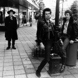 Sex Pistols British Pop Group Punk in Holland 1977 Fotografisk tryk