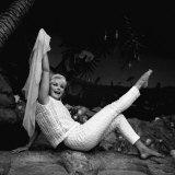 1963 Film Tamahine: Actress Elke Sommer Fotografisk tryk