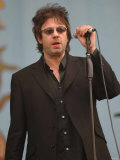 Ian Mcculloch, Lead Singer with Echo and the Bunnymen on Stage at the 2007 Isle of Wight Festival Photographie