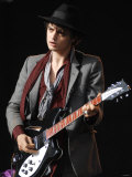 Pete Doherty at the Glastonbury Festival June 2007. Glastonbury Festival Photographic Print