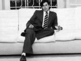 Bryan Ferry Pop Singer at Home 1982 Lámina fotográfica