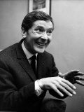 Kenneth Williams Comedian Hands Held Out in Front in Agents Office Cork St. December 1967 Photographic Print