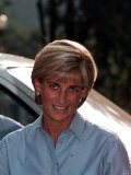 Princess Diana in Bosnia, August 1997 Photographic Print