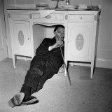 Salvador Dali in London, 1959 Photographic Print
