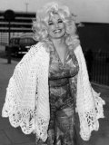 Dolly Parton American Country Singer and Actress 1976 Fotografisk tryk
