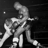 American Middleweight Boxer Rubin Hurricane Carter of New Jersey, USA Lámina fotográfica