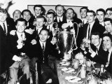 Lisbon Lions Celebrate at the Uefa After Match Banquet Photographic Print