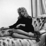 Actress Bridget Bardot Deccmber 1957 Photographic Print
