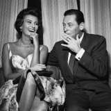Actress Sophia Loren with William Holden, October 1957 Photographic Print