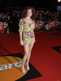 Joss Stone Arrives at the Brit Awards 2007. 14th February Photographic Print