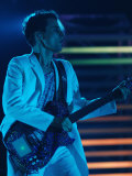 Matt Bellamy, Muse, Headlining on Stage at the 2007 Isle of Wight Festival Fotografie-Druck