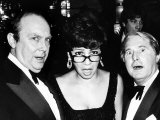 Morecambe and Wise with Singer Shirley Bassey Jan 1979 Reprodukcja zdjęcia