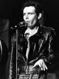 Adam Ant British Pop Singer Singing on Stage 1984 Valokuvavedos