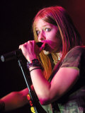 Avril Lavigne at the Barrowlands. March 2003 Photographic Print