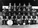 Liverpool Football Team For European Cup 1977 Photographic Print