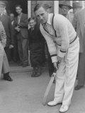 Cricket Len Hutton, July 1951 Fotografisk trykk