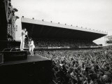 Rock Group Queen in Concert at St James Park in Newcastle Fotografisk tryk