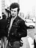Sid Vicious Singer Punk Band the Sex Pistols Lámina fotográfica
