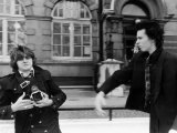 Sid Vicious Sex Pistols Tries to Assault Photographer 1978 Outside Court Lámina fotográfica