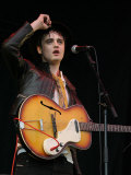 Pete Doherty of British Band Babyshambles Performs at V Festival in Hylands Park Photographic Print