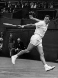 Roy Emerson in Play at Wimbledon. June 1965 Photographic Print