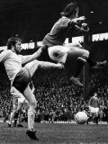 Manchester United's Sammy Melton Find Himself at the End of Ipswich's Allan Hunter. January 1974 Photographic Print