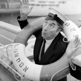 Frankie Howerd Sailing Into the Sunshine For Christmas on Royal Mail Liner &quot;Andes&quot; from Southampton Photographic Print