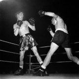 Boxing at Empress Hall Wally Thom V. Womber. April 1952 Photographic Print