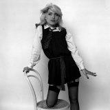 Debbie Harry Blondie Singer Dressed as a Schoolgirl 1978 Photographic Print