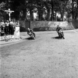 Isle of Man TT Races, P. Baldwin and D. Cholerton Photographic Print