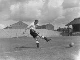 Football Fulham Training August 1950 Eddie Lowe Photographic Print