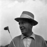 Bing Crosby Golfing. September 1952 Photographic Print
