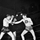 Welterweight Boxing at the Royal Albert Hall Ralph Charles V. Chuck Henderson. November 1969 Photographic Print