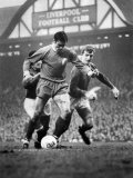 English League Division One Match Liverpool vs Manchester United Photographic Print