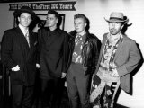 Irish Band U2 - October 1988 Left to Right - Bono, Adam Clayton, Larry Mullen and the Edge Photographic Print