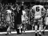 Stoke V Crystal Palace. George Graham Gets His Marching Orders from Referee Martin Photographie