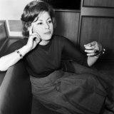 Film Star, Haya Harareet, June 1960 Reprodukcja zdjęcia