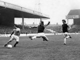 End of the Blitz, Mike Summerbee Hits the Fourth Past a Despairing Frank Lampard, October 1972 Photographic Print