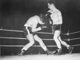 Boxing Elis Ask vs Frank Johnson, February 1952 Photographic Print