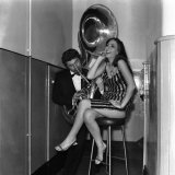 Jazz Singer Lee Leswe Came Back to the City of Her Childhood to Perform at 'The Palace' Photographic Print